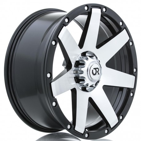 "17"" RTX Wheel Set Cadillac Escalade Tacoma Black Machined 17x8.5 +5mm"