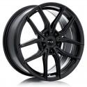 "18"" RTX Wheel Set Audi Mercedes Volkswagen Gloss Black 18x8  +42"