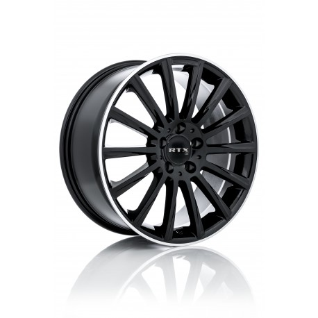 """20"""" RTX Wheel Set Kehl Audi BMW Mercedes Volkswagen  Satin Black 20x8.5 +35mm"""