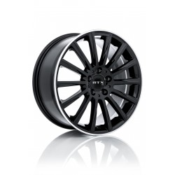 "19"" RTX Wheel Set Kehl Audi BMW Mercedes Volkswagen  Satin Black 19x8.5 +42mm"