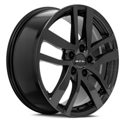 "18"" RTX Wheel Set Acura MDX RLX Honda Pilot Odyssey Ridgeline Gloss Black 18x8 +40mm"
