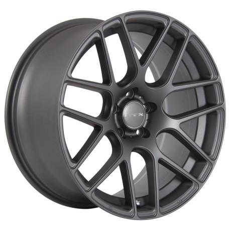 "19"" RTX Wheel Set Tesla BMW Cadillac Land Rover Matte Gunmetal 5x120 19x8.5 +35mm"