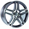 "19"" RTX OE Wheel Set Mercedes Audi BMW Volkswagen Gunmetal 19x8.5 +45mm"