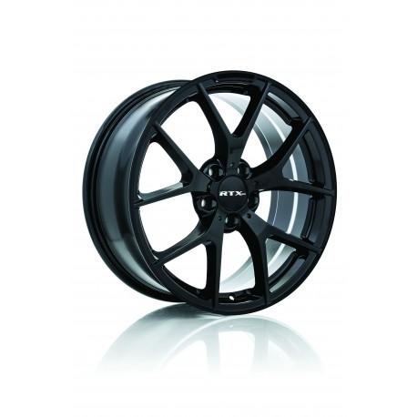 "19"" RTX Wheel Set BMW Mercedes Audi Volkswagen Satin Black 5x112 19x8 +45mm"