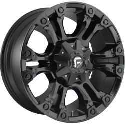 "20"" Fuel Offroad Wheel Set Ford F250 F350 Vapor Matte Black 8x170 20x9 +1mm"