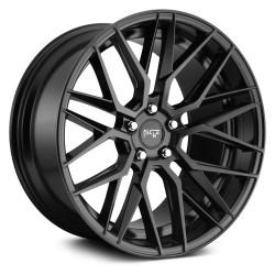 """19"""" Niche Wheel Set M190 Gamma Matte Black 19x8.5 +35"""