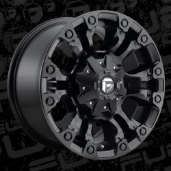 "20"" Fuel Wheel Set Vapor D560 20x9 +18 Matte Black"