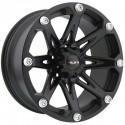 "20"" Ballistic Wheel Set Silverado Sierra Ram 6x139.7 20x9 +12 Flat Black"