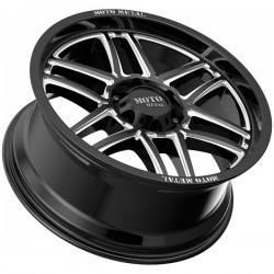 "20"" Moto Metal Wheel Set Silverado Sierra F150 Ram 6x135/6x139.7 MO992 Folsom 20x9 +19mm"
