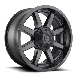 "20"" Fuel Wheel Set Ram Tundra D436 Maverick 5x150 5x139.7 20x9 +20mm Matte Black"
