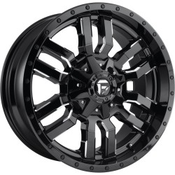 "20"" Fuel Wheel Set Sledge D595 Silverado Sierra F150 6x135 6x139.7 20x9 +1mm"