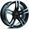 "19"" RTX Wheel Set BMW Tesla Land Rover 5x120 19x8.5 Black Machined Grey"