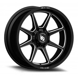 20'' Wheel Set LRG Silverado Sierra Ram 1500 6x139.7 20x10 -12mm