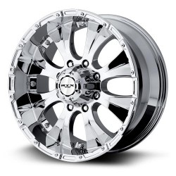 "17"" RTX Wheel Set Silverado Sierra Escalade 17x8 +10mm Chrome"