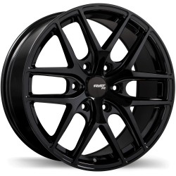 "20"" Fast Wheel Set FC04X 20x8.5 +15mm 6x139.7 Metallic Black"