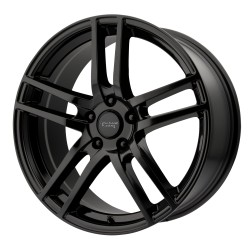 "18"" Wheel Set AR929 Winter Rim Audi VW Mercedes 5x112 18x8 +45mm Black"
