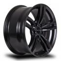 "18"" RTX Wheel Set BMW Acura Honda Cadillac 18x8 5x120 +35mm Satin Black"