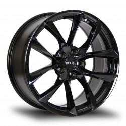 "19"" RTX Wheel Set Tesla 3 & Y 19x8.5 +35mm 5x114.3 Gloss Black"