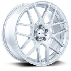 "17"" RTX Wheel Set Honda Hyundai Mazda Kia Toyota Subaru 17x7.5 5x114.3 +38mm Silver"