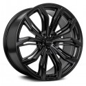 "17"" RTX Wheel Set Encore Trax Sonic Cruze Volt 17x7.5 5x105 +38mm Satin Black"