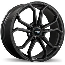 "18"" Fast Wheel Set Honda Mazda Kia Hyundai Tesla Subaru 18x8 +40mm 5x114.3 Gloss Gun Metal"