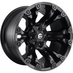 "20"" Fuel Vapor D560 Wheel Set Ford F150 Silverado Sierra Ram 20x9 +19mm 6x139.7 6x135 Matte Black"