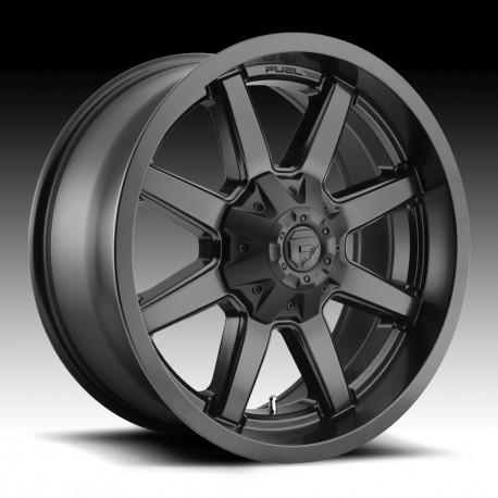 """20"""" Fuel Wheel Set Maverick D436 Ford F250 F350 20x9 8x170 +1mm Matte Black"""