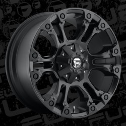 "20"" Fuel Wheel Set Vapor D560 Dodge Ram 2500 3500 8x6.5 20x9 +20mm Matte Black"
