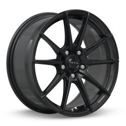 "18"" RTX Wheel Set Honda Mazda Nissan Subaru Kia Hyundai Toyota 18x8 +42 Gloss Black"