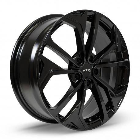 "18"" RTX Wheel Set Honda Mazda Nissan Subaru Kia Hyundai Toyota 18x7.5 +40 Gloss Black"