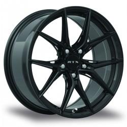 "18"" RTX Wheel Set Honda Mazda Nissan Subaru Kia Hyundai Toyota 18x8.5 +38 Gloss Black"