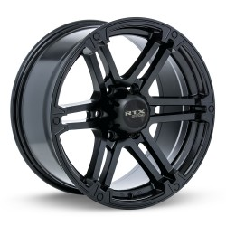 "20"" RTX Wheel Set Ford F150 Expedition Navigator 20x9 +20 6x135 Satin Black"