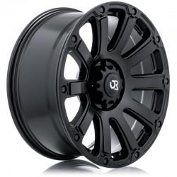 """20"""" RTX Wheel Set Canyon Colorado 20x9 +18 6x120 Satin Black"""