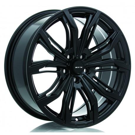 "20"" RTX Wheel Set Tesla BMW Cadillac Lexus 20x9 +35 5x120 Satin Black"