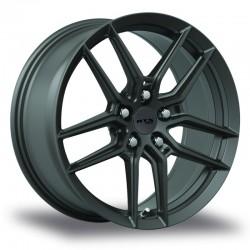 """20"""" RTX Wheel Set Honda Mazda Kia Hyundai 20x8.5 +40 5x114.3 Gunmetal"""