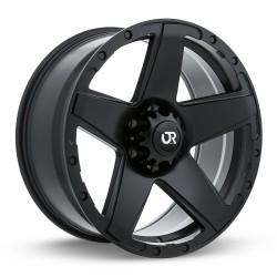 "17"" RTX Wheel Set Ford F150 Expedition Navigator 17x8 +10mm 6x135 Satin Black"