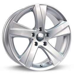 "17"" RTX Wheel Set Toyota Lexus Scion 17x8 +45mm 5x114.3 Silver"