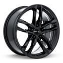 "17"" RTX OE Wheel Set Audi BMW Mercedes Volkswagen 17x7.5 5x112 +35 Gloss Black"