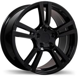 "18"" Replika Wheel Set Porsche Audi Volkswagen 18x8 +50 Gloss Black"