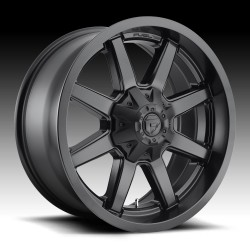 "20"" Fuel Wheel Set Ford F250 F350 20x10 8x170 Mag Rim Satin Black"