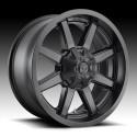 """20"""" Fuel Wheel Set Ford F250 F350 20x10 8x170 Mag Rim Satin Black"""