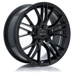 "16"" RTX Wheel Set Vertex Honda Toyota Kia Hyundai Nissan 16x7 +40 5x114.3 Satin Black"
