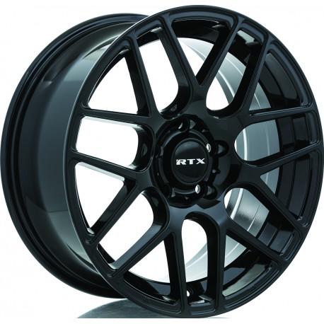 "20"" RTX Wheel Set Volkswagen Mercedes BMW Audi 20x8.5 +38 5x112 Gloss Black"