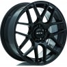 "20"" RTX Wheel Set Volkswagen Mercedes BMW Audi 20x8.5 +38 5x112 Gloss Black"