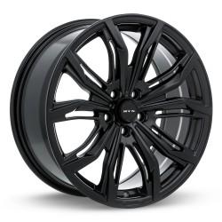 "20"" RTX Wheel Set Volkswagen Mercedes BMW Audi 20x9 +40 5x112 Satin Black"