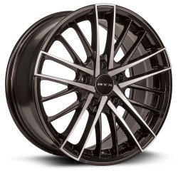 RTX Stix 17X7.5 5-114.3 Black Silver