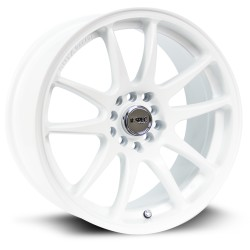RTX Stag 17X8 5-100/114.3 Satin White