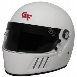 Helmet GF3 Full Face Lightweight Composite Shell Snell SA 2015 White