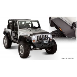 Jeep Flat Style Fender Flare - Set of 4 - OE Matte Black