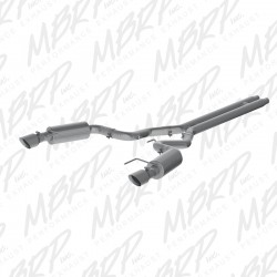 MBRP Cat-Back 2015-2017 Ford Mustang GT Convertible Street Version Stainless Steel